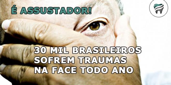 É ASSUSTADOR! — Mais 30 mil brasileiros sofrem traumas na face durante um ano